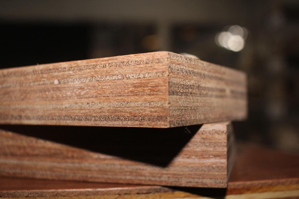 Standard Size (21 Plies) -122 cm x 244 cm - Keruing Rubber Mix