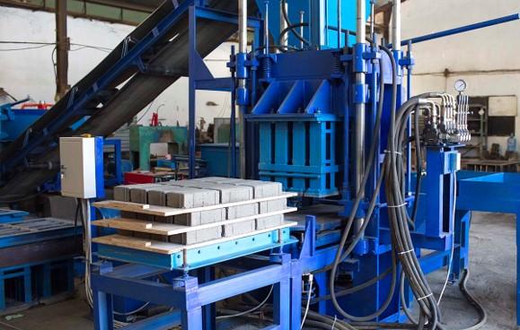 Base of Brick Stamping Machine